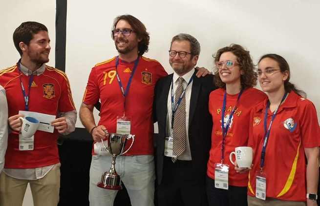 Un endoscopista de Hospital General Universitario de Ciudad Real forma parte del equipo español, campeón de Europa de la especialidad