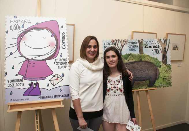 """CORREOS entrega los premios del V Concurso Nacional de Diseño de Sellos """"Disello"""""""