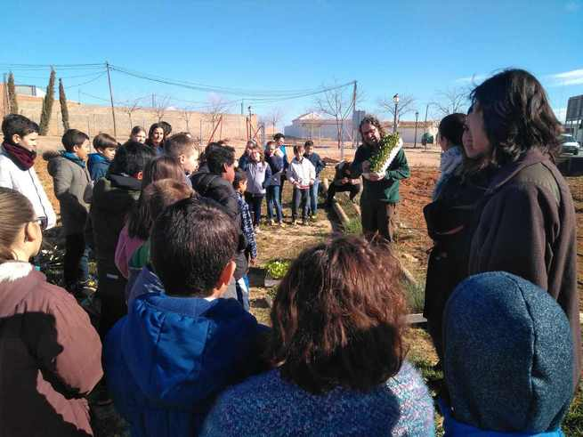 Fundación Global Nature y Ecoembes llevan la biodiversidad, el reciclaje y la economía circular a los centros educativos de Madridejos