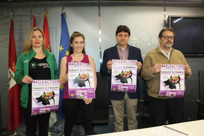 El Pabellón de la Feria de Albacete acoge un evento deportivo a beneficio del `Proyecto Escan´ que pretende ayudar a las mujeres víctimas de violencia de género