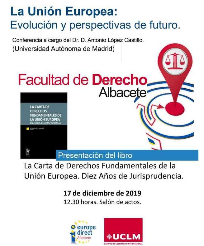 """La UCLM participa en la obra: """"La Carta de los Derechos Fundamentales de la Unión Europea. Diez años de jurisprudencia"""""""