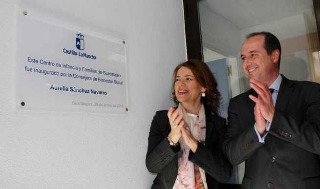 El Gobierno de Castilla-La Mancha muestra su compromiso con las familias con la inauguración del Centro de Infancia y Familias de Guadalajara
