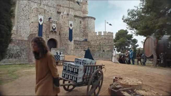 El Castillo de Guadamur y las Barrancas de Burujón en el spot publicitario que Bud Light hizo en la 53 edición de la Super Bowl