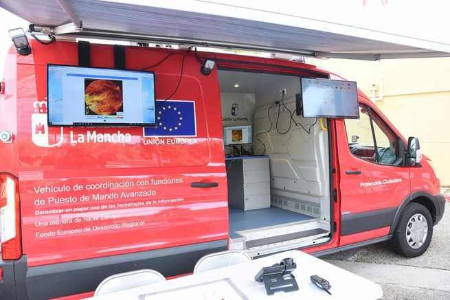 El Gobierno regional refuerza la capacidad operativa del 1-1-2 en el lugar de las emergencias con la adquisición de un vehículo ligero de comunicaciones