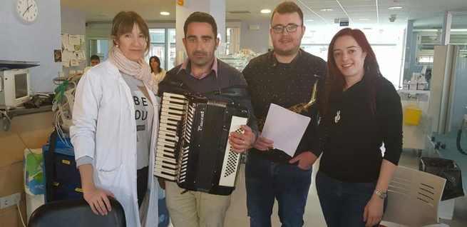 """El proyecto """"Música en el hospital"""" de Alcázar de San Juan organiza un nuevo concierto"""