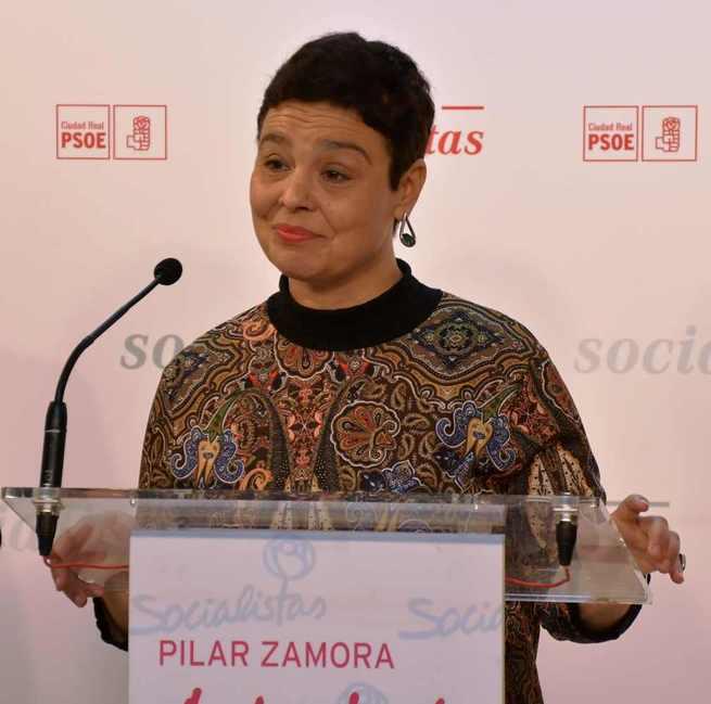 """Pilar Zamora se siente """"más fuerte, más arropada y con más ganas e ilusión que nunca"""" para revalidar la Alcaldía de Ciudad Real"""