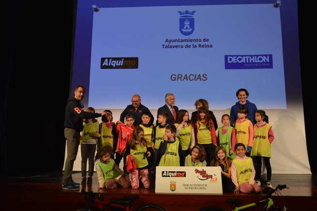 La novena edición de Bici Aula promocionará el uso de la bicicleta entre más de mil escolares de Talavera