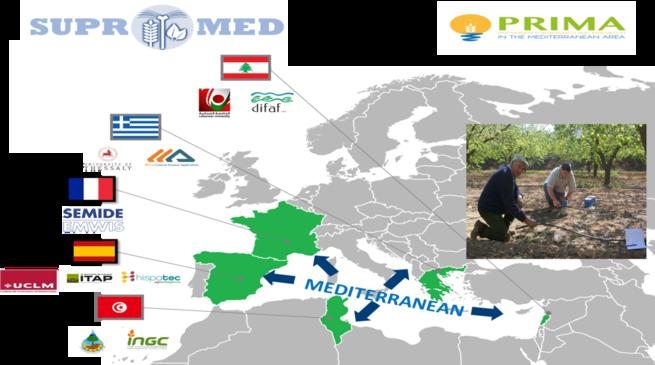 La fundación PRIMA financia un proyecto de la UCLM sobre producción sostenible en ambientes hídricos mediterráneos