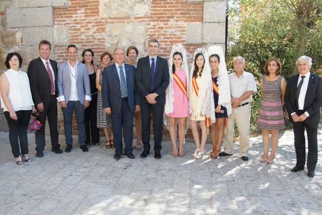 Imagen: El Presidente de la Dipitación asiste a las fiestas patronales de Burujón y Nombela