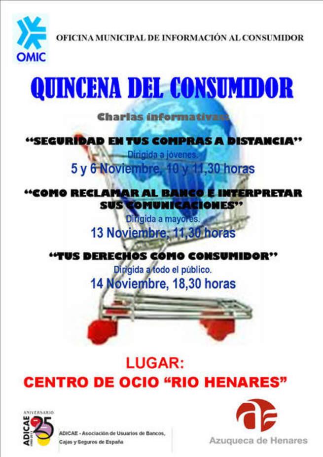 imagen de La Quincena del Consumidor aborda la seguridad en las compras a distancia en Azuqueca