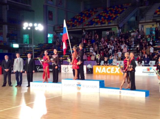 imagen de Gran Éxito del Campeonato del Mundo de Baile Deportivo en Guadalajara