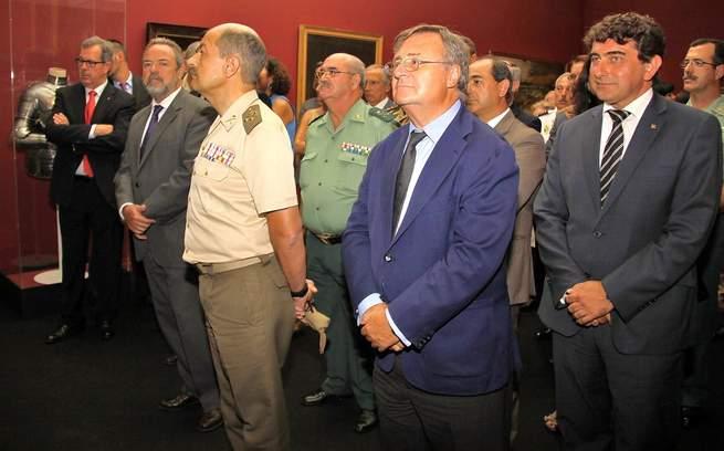 """imagen de Caja Rural Castilla-La Mancha, en la inauguración de la exposición """"Las armas del Greco"""""""