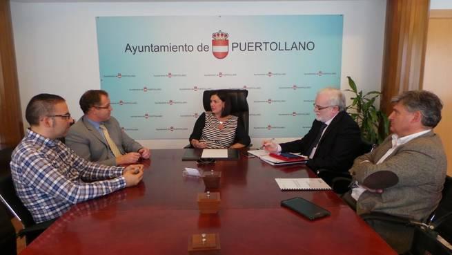 Imagen: La alcaldesa de Puertollano destaca la recuperación del diálogo con la Junta en su encuentro con el director general de Vivienda