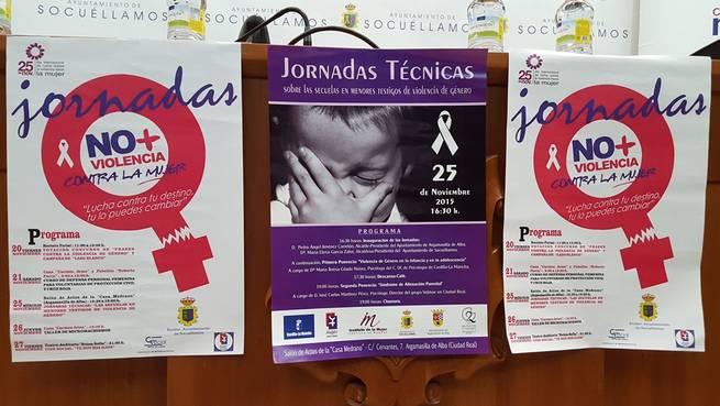 Imagen: Presentado el programa de actividades Contra la Violencia de Género de Socuellamos