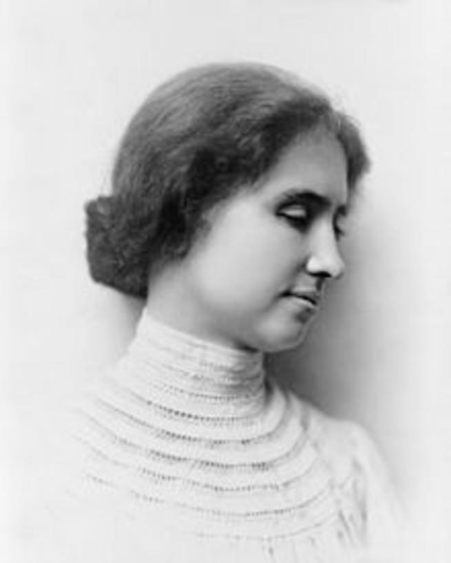 Imagen: Mujeres que dejaron huella en la historia. Helen Keller
