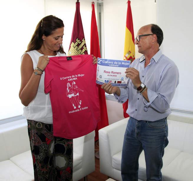 imagen de La alcaldesa de Ciudad Real participará de nuevo en la II Carrera de la mujer solidaria