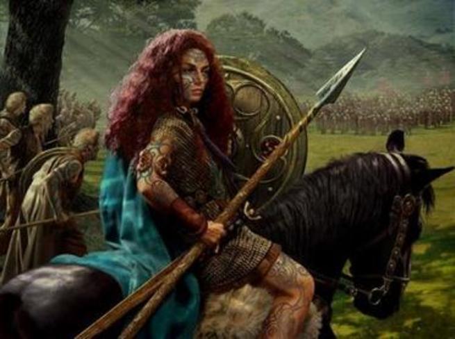 Imagen: Mujeres que dejaron huella en la historia, Boudica