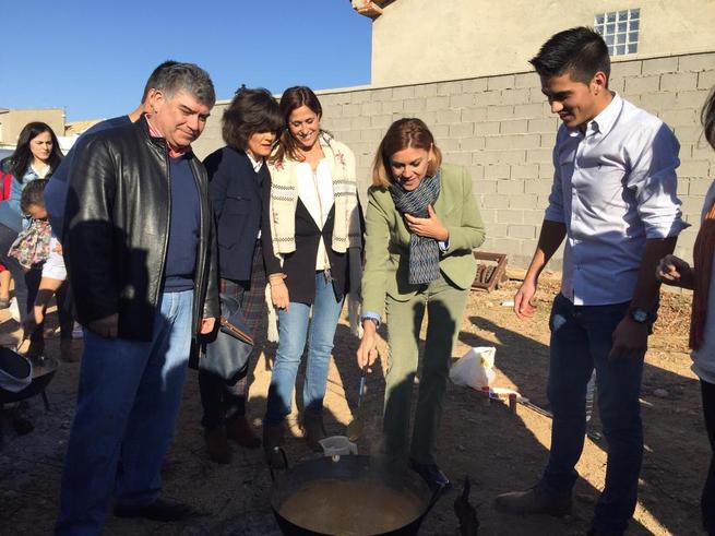 Imagen: Los máximos responsables del PP de Castilla-La Mancha arropan a Ángel Ortiz en su despedida