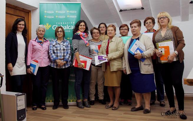 Imagen: La Fundación Globalcaja Cuenca apoya, junto a la Asociación Luna, la integración social y laboral de las mujeres con discapacidad en la provincia