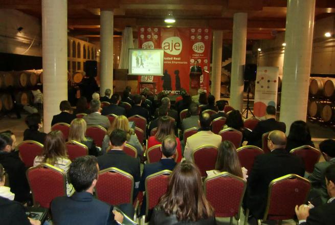 Imagen: El Conecta 2015 de AJE Ciudad Real, un ejemplo de la nueva economía de las relaciones