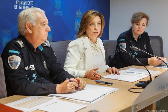 Imagen: 1.800 niños participarán en el programa de educación vial que imparte la Policía Local de Guadalajara