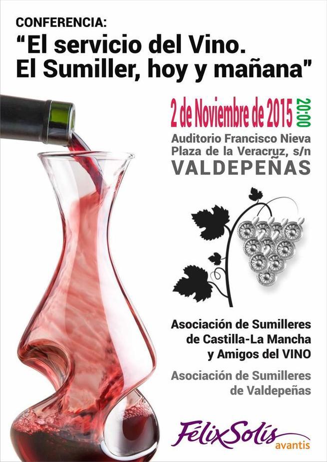 Imagen: El servicio del Vino. El Sumiller hoy y mañana