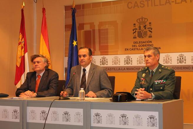 Imagen: Gregorio presenta la Campaña de control del Transporte Escolar que se realizará entre el 30 de noviembre y el 4 de diciembre