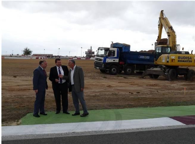 imagen de Comienzan las obras de modernización y asfaltado del circuito de velocidad en Albacete