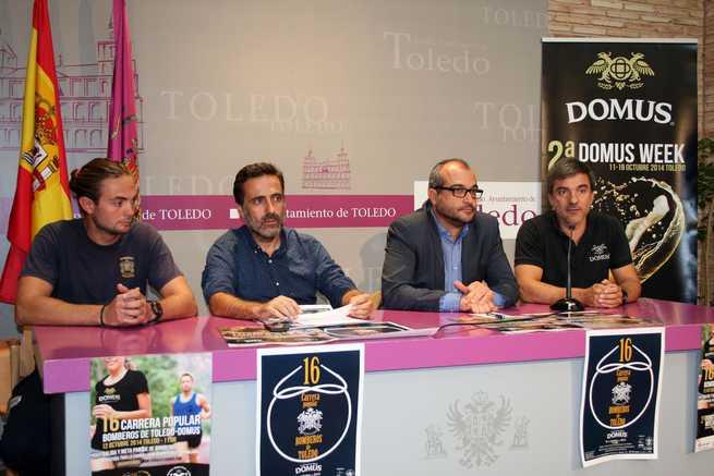 imagen de Tras quince años, se recupera la Carrera Popular de los Bomberos de Toledo con la colaboración de Cervezas Domus