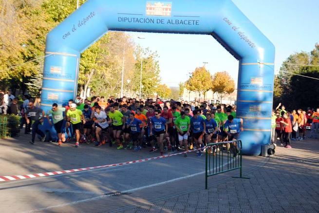 Imagen: La carrera solidaria Campus a Través reúne a 2.700 participantes en las diferentes sedes de la UCLM