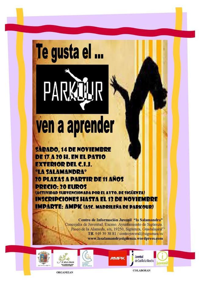 Imagen: Si te gusta el Parkour, ahora puedes aprender en el CIJ La Salamandra
