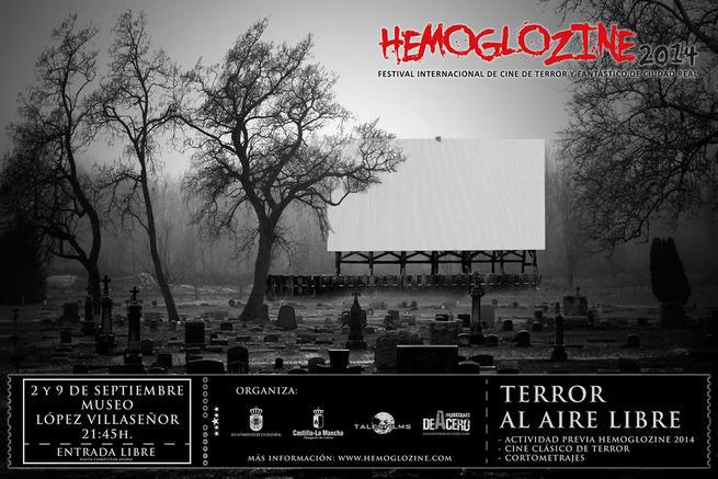 """imagen de """"Terror al Aire Libre"""", cine en el Museo López Villaseñor de Ciudad Real"""