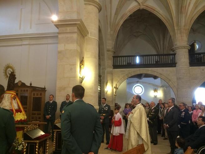 imagen de Emotiva celebración de la Virgen del Pilar en El Toboso