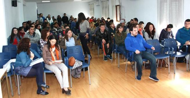 """Imagen: Lucas-Torres """"en Campo de Criptana trabajamos para que el desempleo juvenil sea historia en poco tiempo"""""""