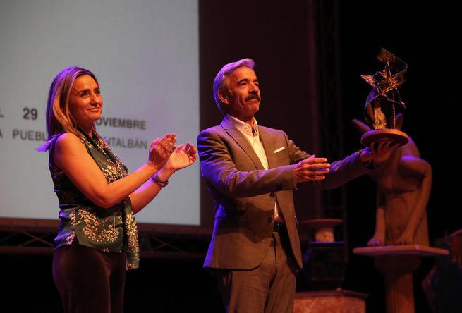 """Imagen: Imanol Arias, premio """"Toledo de cine"""" en la clausura del Festival CIBRA"""