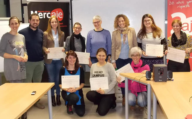 Imagen: Clausurado el taller de AJE Ciudad Real sobre motivacion y actitud emprendedora para mujeres