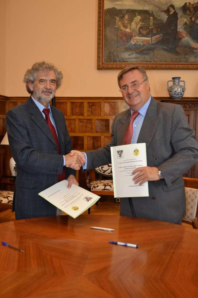 imagen de La Diputación colabora con la Real Academia de Bellas Artes y Ciencias Históricas de Toledo