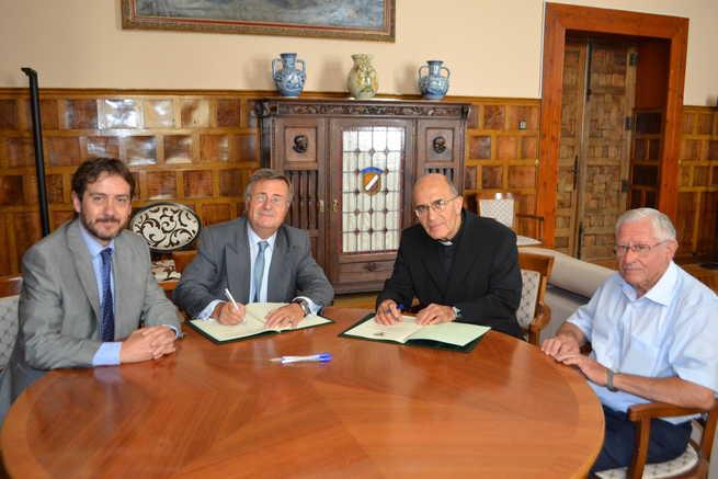 imagen de La Diputación de Toledo colabora con la Iglesia del Santísimo Sacramento de Torrijos