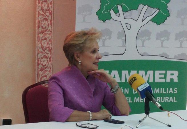 """Imagen: Quintanilla ha presentado las conclusiones del proyecto """"Las Mujeres y las NN.TT. en la dinamización económica del medio rural"""""""