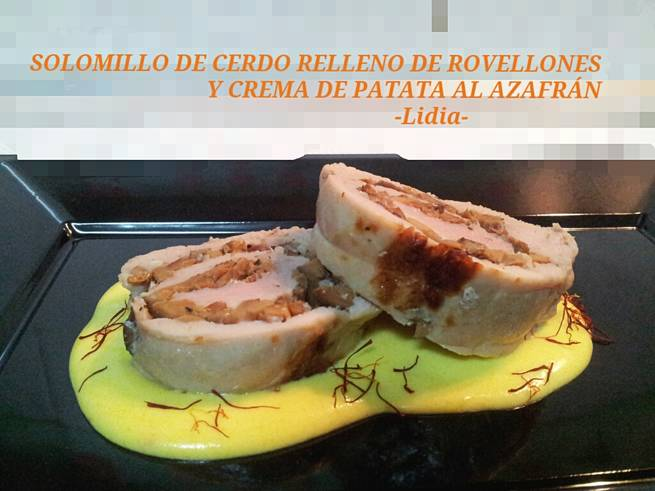 En OBJETIVO DELICIOSO Solomillo de cerdo y Parfait de cerezas con nueces (Reedición)