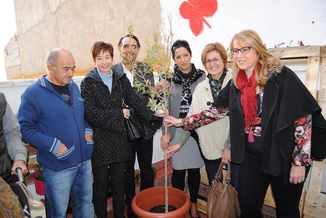 """Imagen: Albacete inaugura """"El """"Huerto de la Paz-ciencia"""" que cuidarán y mantendrán los socios como parte de terapia"""