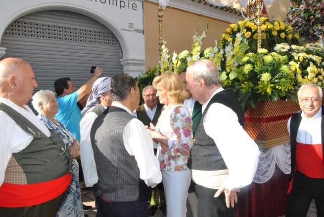 imagen de La Alcaldesa preside la celebración de la Misa en Honor a la Virgen de los Llanos