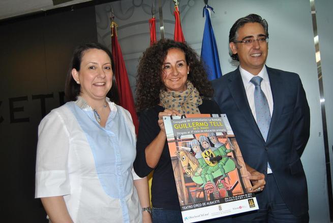 """imagen de Ayuntamiento de Albacete y la Obra Social La Caixa, traen al Teatro Circo los Conciertos Escolares """"Guillermo Tell"""""""