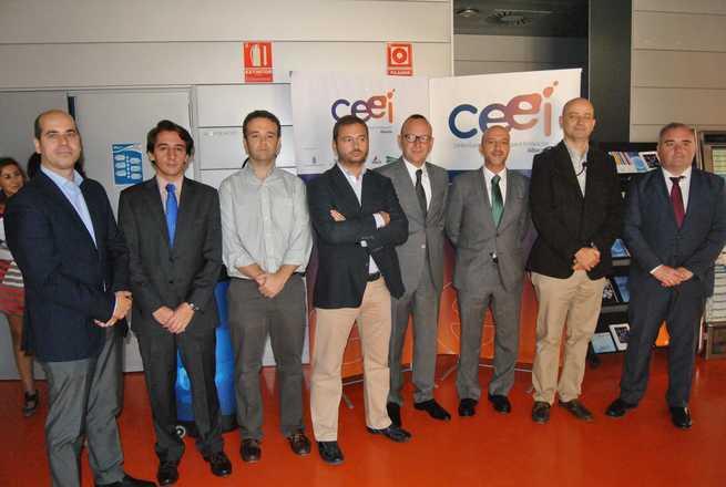 imagen de Juan Marcos Molina inaugura la I Jornada de Competitividad Empresarial en la Fundación CEEI Albacete