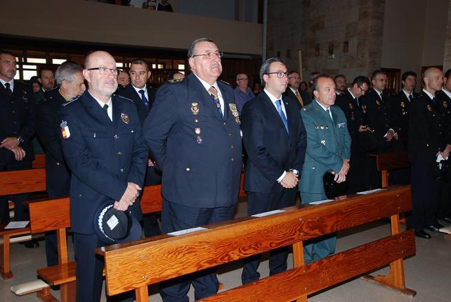 imagen de Diego Ortega destaca el esfuerzo de la Policia Nacional por hacer de Alcázar una ciudad más segura