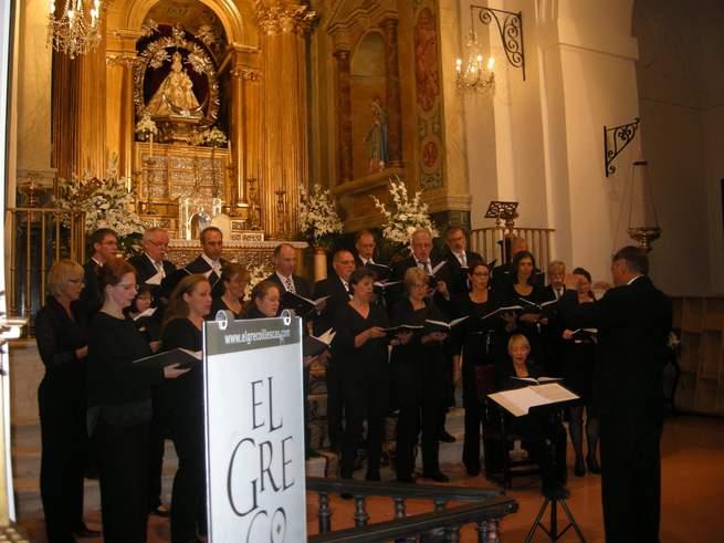 imagen de Música sacra, del renacimiento, romántica y canciones populares alemanas,  en el Concierto del Coro de Aquisgrán
