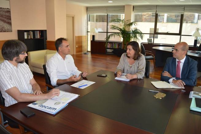 Imagen: Franco valora el impulso del Centro Tecnológico del Metal a la I+D+i
