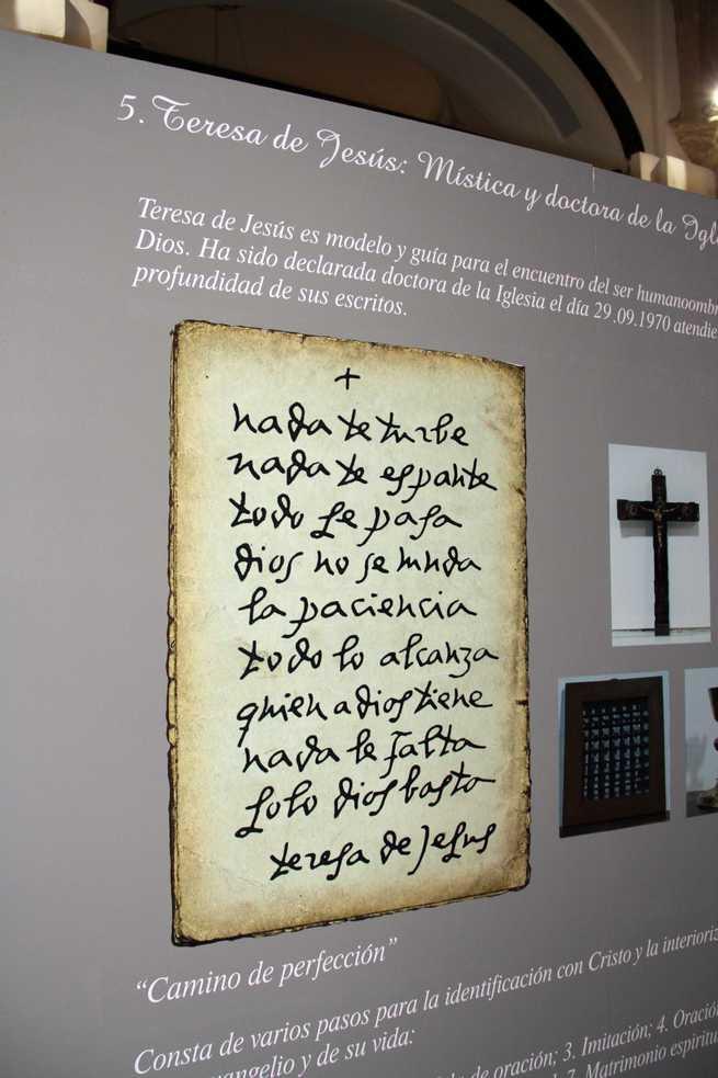 imagen de Las huellas de Santa Teresa en Pastrana, Iglesia-Colegiata:La mirada de fe