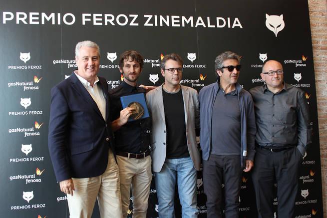 imagen de Gas Natural Fenosa renueva su compromiso con el cine apoyando la II edición de los premios Feroz
