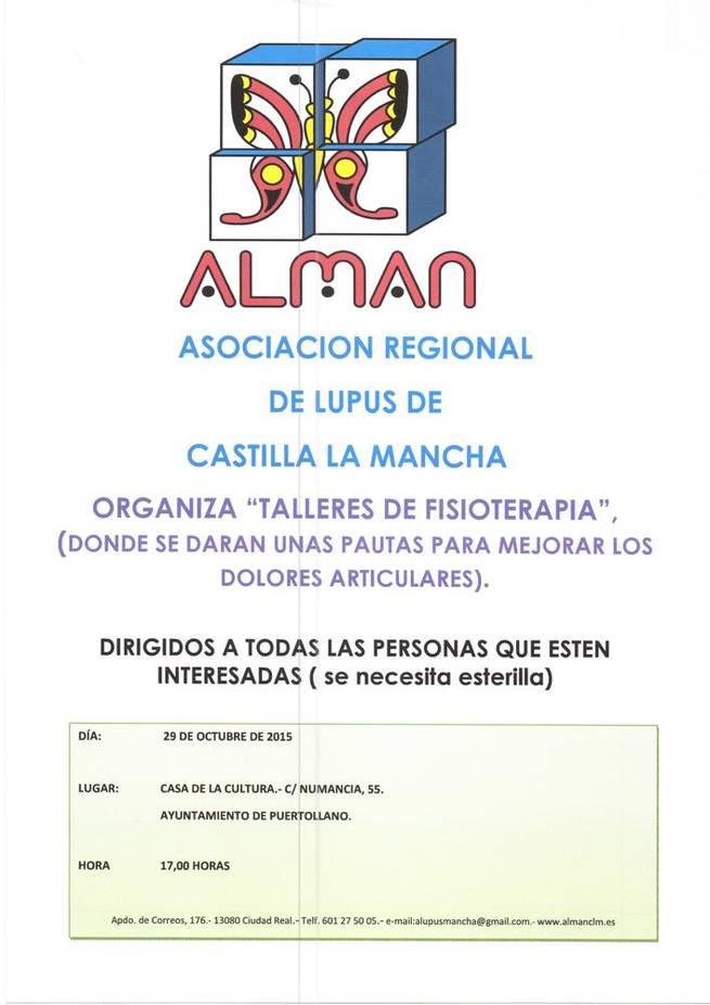 Imagen: ALMAN impartirá un nuevo ciclo de talleres dedicados a aliviar los dolores articulares